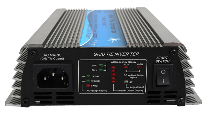 Small Power Grid Tie Inverter 500 W (15 - 60 VDC input)