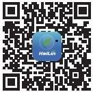 Scan this two-dimensional code, and install HaiLin App