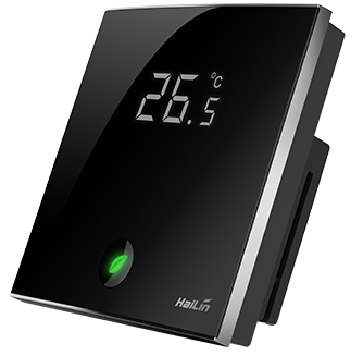 Touch Screen LCD WiFi Thermostat for Electric (Floor) Heating (16 A) controlled by Android and iOS Smartphone