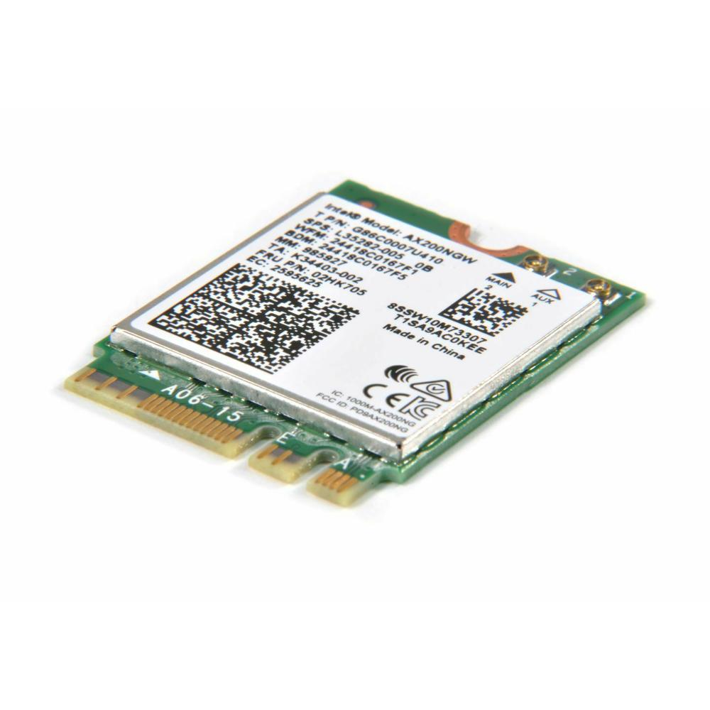 Intel AX200NGW Dual-Band Wi-Fi 6 & BT 5.1 Card