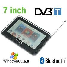 7'' GPS (HD: 800x480, 16:9 crystal clear glass LCD, 500 MHz CPU, 2 GB ROM, 128 MB SDRAM, Bluetooth, FM transzmitter, AV input for rear view camera, DVB-T, music/video player, photo viewer, eBook reader, iGO, WinCE 6.0)