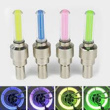 Car / Bike / Bicycle Tyre Wheel Spoke Valve LED Neon Light