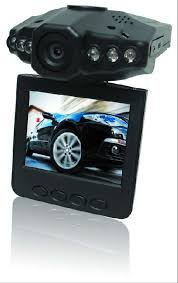 "Car Camera Dashcam DVR (rotatable 2.5"" TFT LCD, 6 IR LED)"