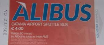 Catania Airport Shuttle Bus (AliBus) Ticket