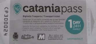 1 day (24h) Family Catania Pass transport ticket
