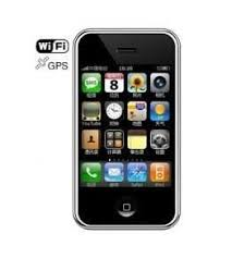 CiPhone - C5 iPhone clone (Quadband, 3.2\'\' Touchscreen, 4 GB, Bluetooth, MP3 / MP4 player, WIFI, GPS, WM 6.1, Java)