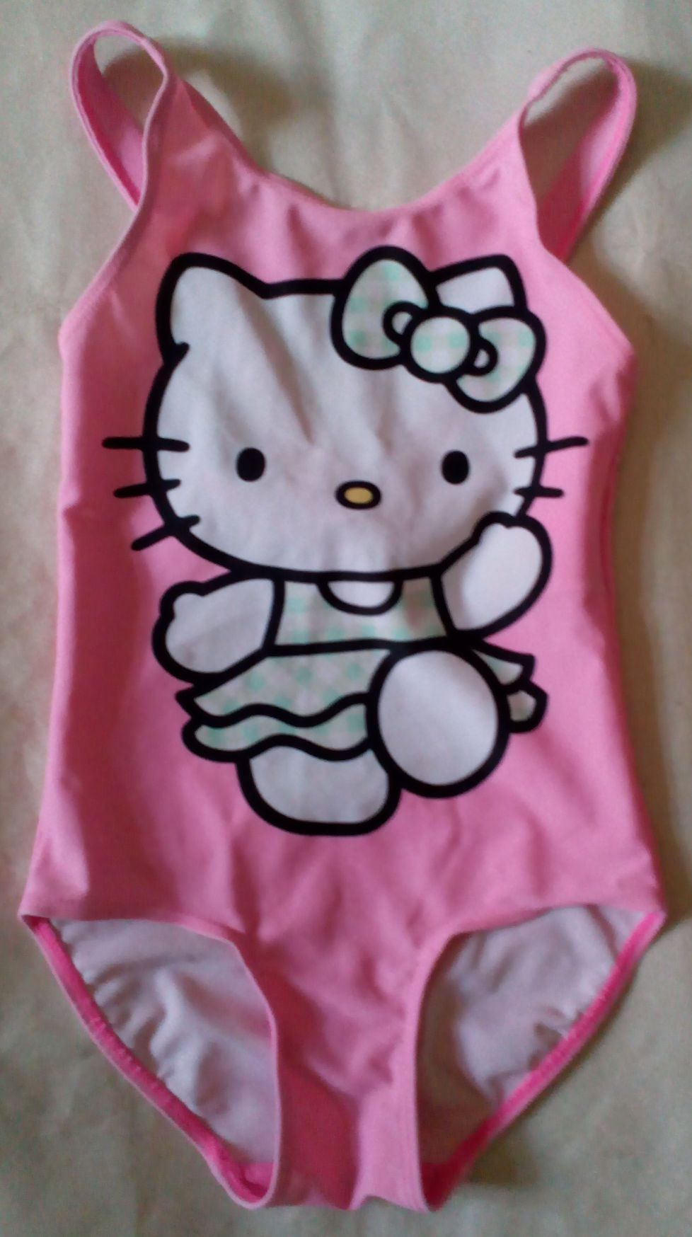 Hello Kitty Pink X-Back Swimsuit