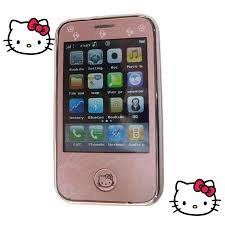 Hello Kitty Mini iPhone (I9, Touch Screen, Dual SIM, Bluetooth)