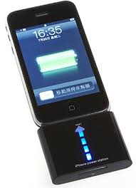 iPhone Power Station (Rechargeable Emergency External Battery, Charger)