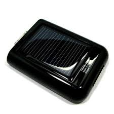iPhone Solar Power Station (Rechargeable Emergency External Battery, Charger)