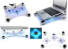 USB Notebook/Laptop 3 fans cooler pad