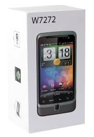 W7272 (Android 2.3, 3.5'' Capacitive multi-touch screen, WCDMA + 3G, Dual SIM, WiFi, GPS)
