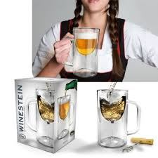Winestein Wine glass and Beer mug in one
